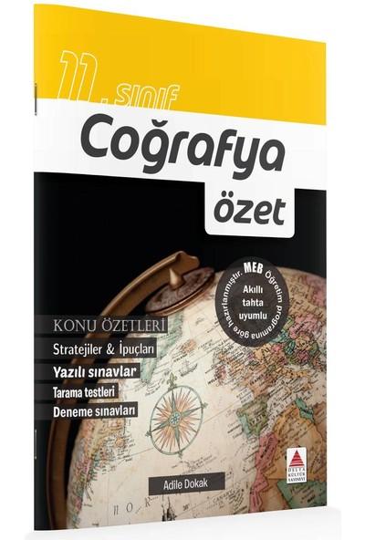 Delta Kültür Basım Yayın 11. Sınıf Coğrafya Özet