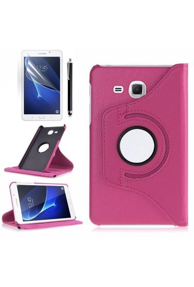 Exclusive Samsung Galaxy Tab A T580 T585 T587360 Derece Döner Kılıf+Film+Kalem