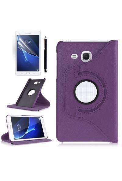 Exclusive Samsung Galaxy Tab A T580 T585 T587 Kılıf Tam Koruma +Tempered Glass+KalemOtg Kablo