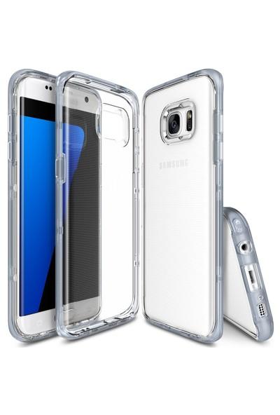 Ringke Frame Frost Galaxy Note 7 FE Çerçeveli Bumper Kılıf Gray - Extra Tam Koruma