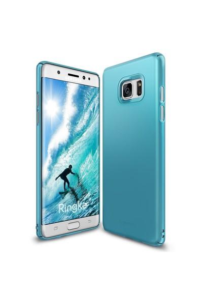 Ringke Slim Galaxy Note 7 FE Kılıf Ocean Blue - 4 Tarafı Saran İnce Şık Tasarım