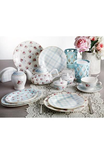 Pierre Cardin Camellia 49 Parça 6 Kişilik Porselen Kahvaltı Takımı
