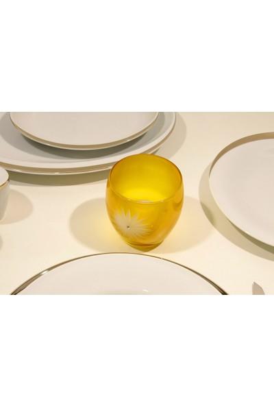 Arte Home Gelbere Sarı Mumluk