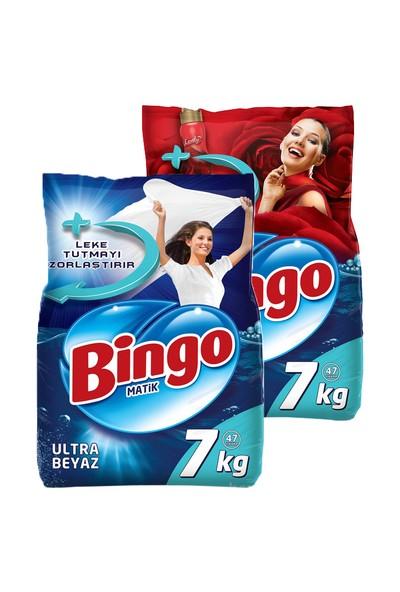 Bingo Matik Renkli 7 Kg + Ultra Beyaz 7 Kg
