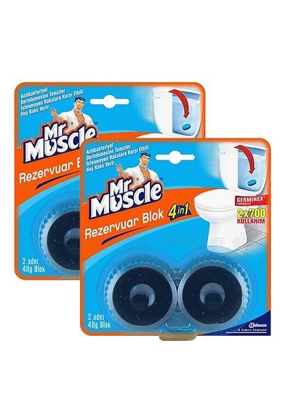 Mr. Muscle Rezervuar Blok 4in1 x 2 Adet