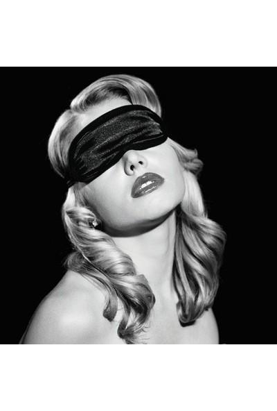 Sex & Mischief - Siyah Saten Göz Bandı