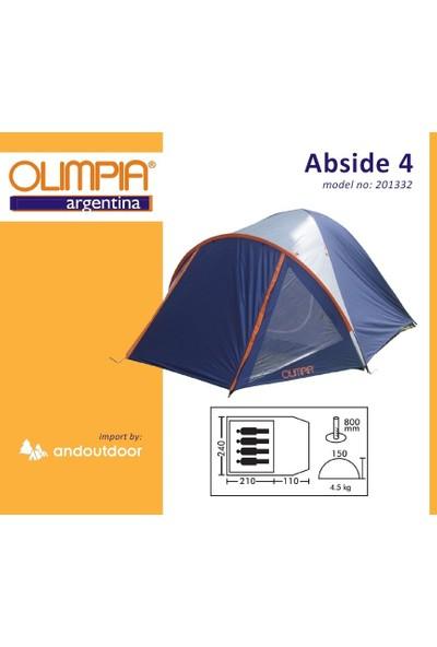 Olimpia Abside 4 Kişilik Kamp Çadırı