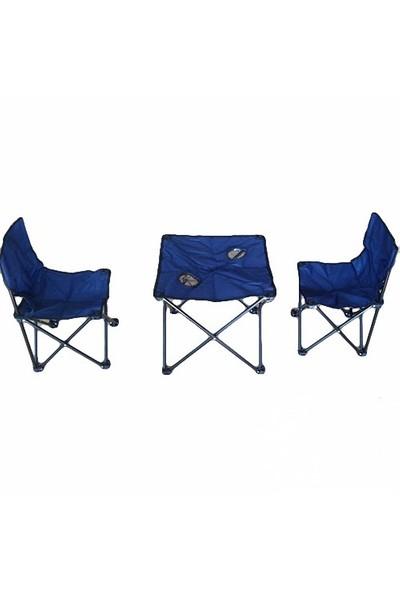 Andoutdoor 2 Sandalye 1 Masa Çantalı Set And200