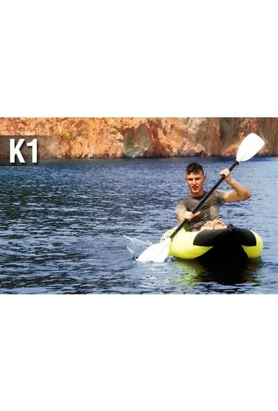Aqua Marina K1 1 Person Kayak-Inflatable Floor