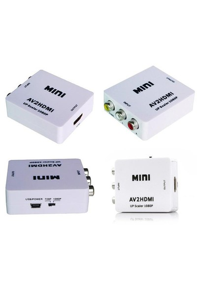 Blueway Hdmı To Vga Mini Kutu Full Hd 1080P Ses/Görüntü