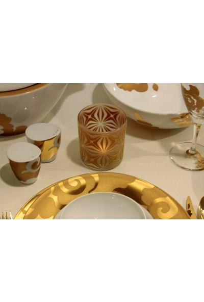 Arte Home Yıldız Altın Retro Mumluk
