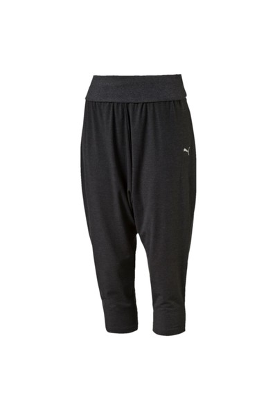 9a4f422088613 Puma 514573-02 Dancer Drapey 3 4 Dark Gray Kadın Pantolon ...