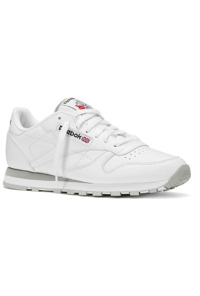 Reebok 2214 Cl Lthr White Lt. Grey Erkek Spor Ayakkabısı