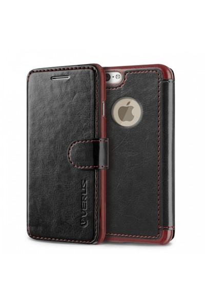 Verus İphone 6S Plus Kılıf Dandy Layered Siyah