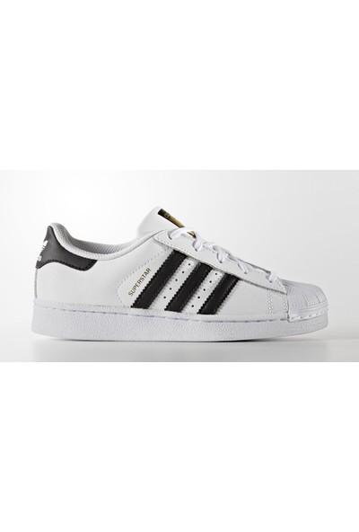 Adidas Çocuk Ayakkabısı Spor Beyaz Ba8378 Superstar Foundation C