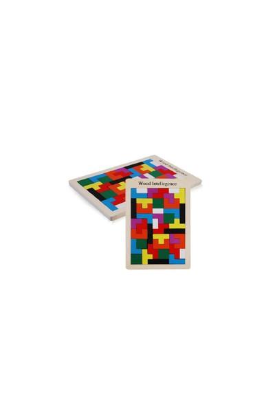 Blueway Ahşap Tetris Eğitici Oyuncak - Çocuk Gelişim Oyunu