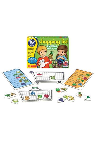 Orchard Shopping List Fruit & Veg