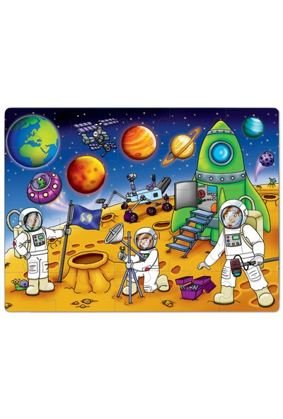 Orchard Puzzle Who's İn The Space? 3 Yaş+