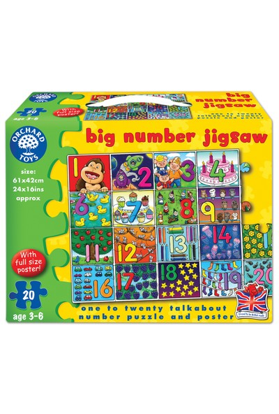Orchard Big Number Jigsaw