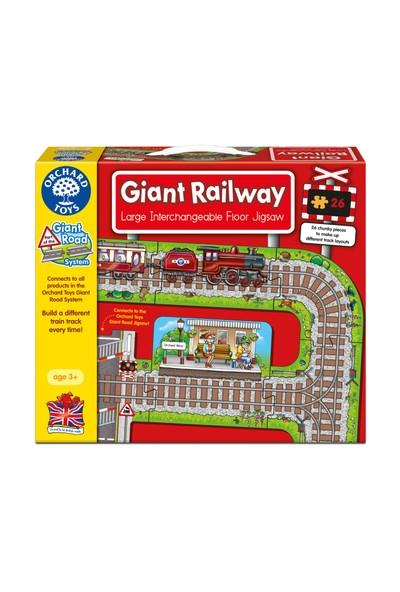 Orchard Dev Tren Rayları (Giant Railway) Yapboz
