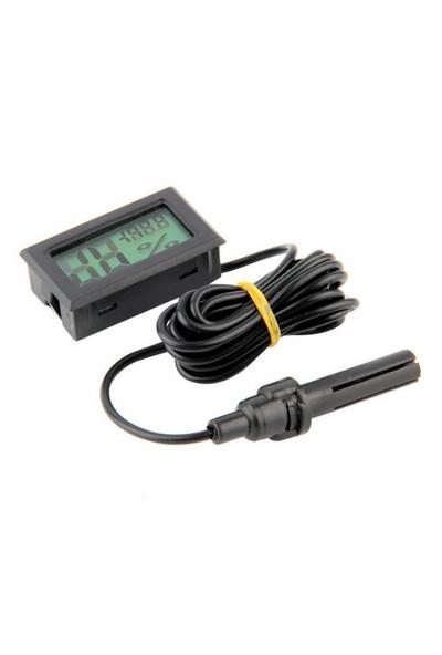 Buzdolabı için Problu Termometre Sıcaklık Saati ,Nem ölçer thr151