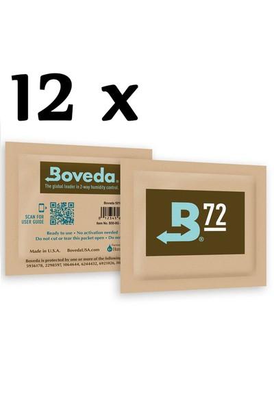 B72 Boveda 12 Adet Jel Otomatik Humidor Nemlendiricisi pp52-12