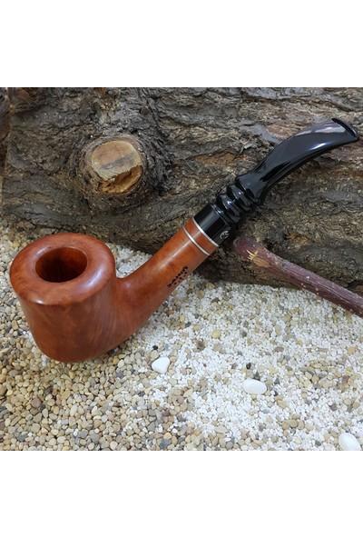 Şahin Pipo Büyük Boy Gül Ağacı Kökü Professional Pipo pr60