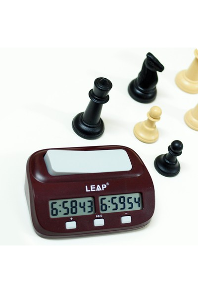 Leap Dijital Elektronik Otomatik Satranç Saati thr110