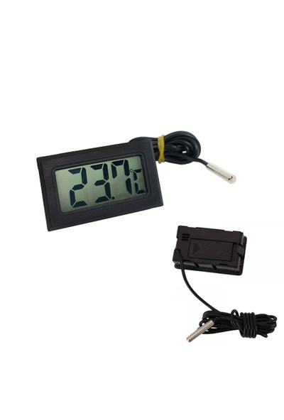 5 Adet İç veya Dış Mekan Mini Dijital Sıcaklık Ölçer thr143-5