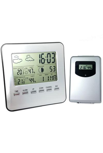 Kablosuz Dış ve İç Mekan Termometre ve Nem Ölçer thr144
