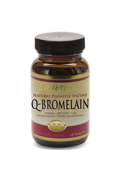 Lifetime Q-Bromelain 60 Tablet