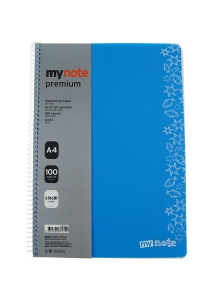 Mynote Premiüm Pp Kap.Def.A4 100 Yp Ciz.