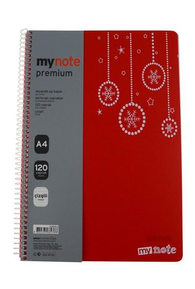 Mynote Premiüm Pp Kap.Def.A4 120 Yp Ciz.