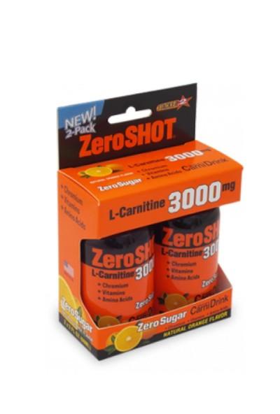 Zero Shot L-Carnitine 3000mg Portakal 2 Adet