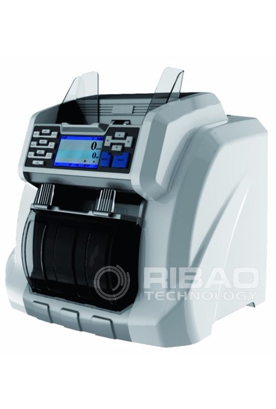 Rıbao Bcs-160 Çift Katlı, Çift Cıslı, Toz Kapaklı Para Sayma Makinesi