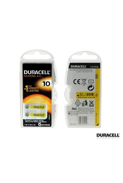 Duracell Actıvaır 10 6Lı Kulaklık Pili