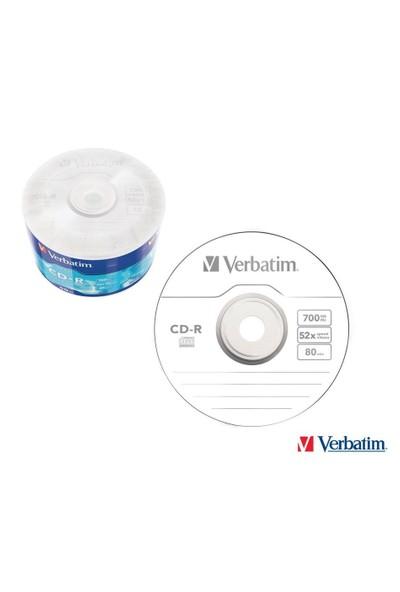 Verbatim Cd-R 52X 700Mb 43787 50 Li