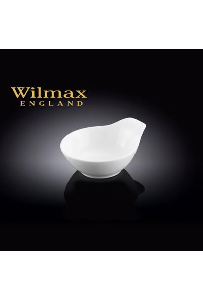 Wilmax Tek Kenar Saplı Mini Kase, Çap:8,5Cm.