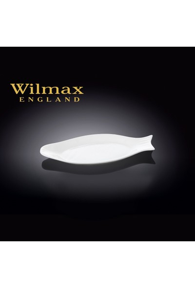 Wilmax Balık Tabak, 25*12Cm.