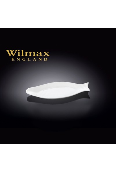 Wilmax Balık Tabak, 21,5*10Cm.