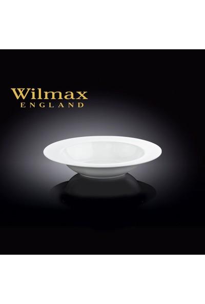 Wilmax Çukur Yemek Tabağı, Çap:23Cm.