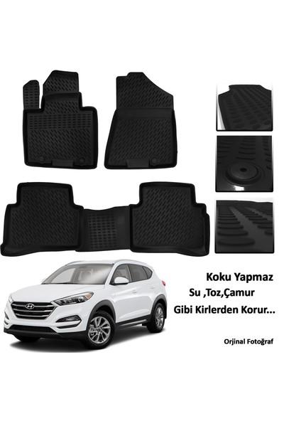 Hyundai Tuscon 3D Oto Paspas Seti