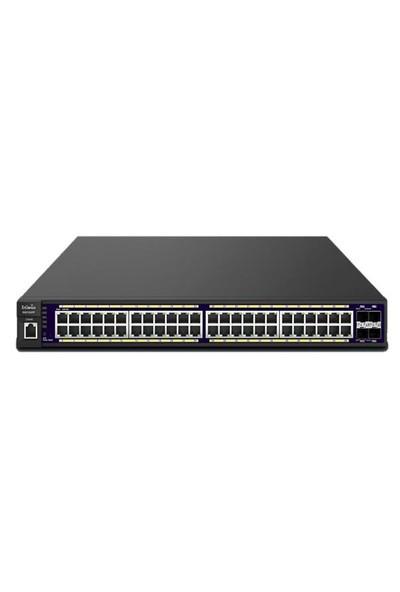 Engenius Egs7252Fp L2 Poe+ Switch / 48X Gigabit Poe+ Lan / 4X Gigabit Sfp / 740W