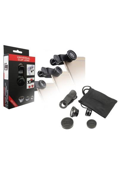 Powermaster Universal Akıllı Telefon Lens Seti 2 li