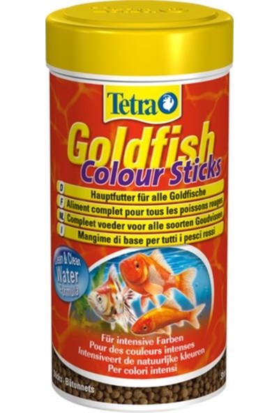 Tetra GoldFish Colour Sticks Balık Yemi 250ml 75gr