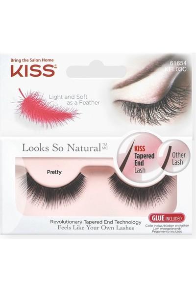 Kiss New York Pretty Komple Takma Kirpik - Kaliteli İnsan Saçı