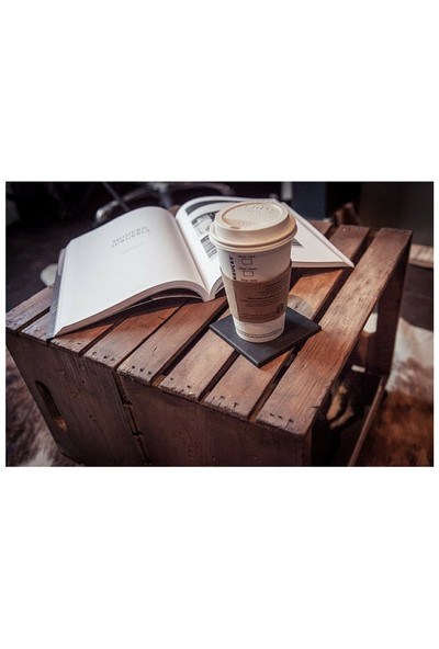 Kadir'in Atölyesi Yard Kaksi Orta Sehpa Kona - Espresso