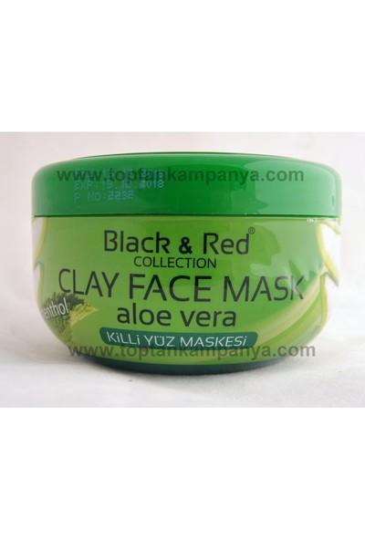 Black & Red Collection Aloeverali Killi Yüz Maskesi 400 gr