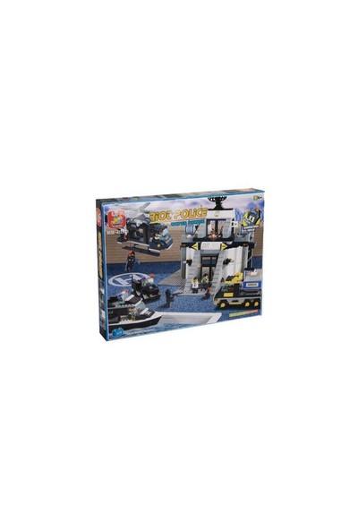 Sluban Riot Police B2300 Tekno Merkezi 876 Parça