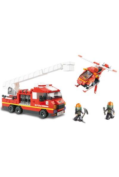 Sluban Fire Alarm B0227 İtfaiye Merkezi 745 Parça